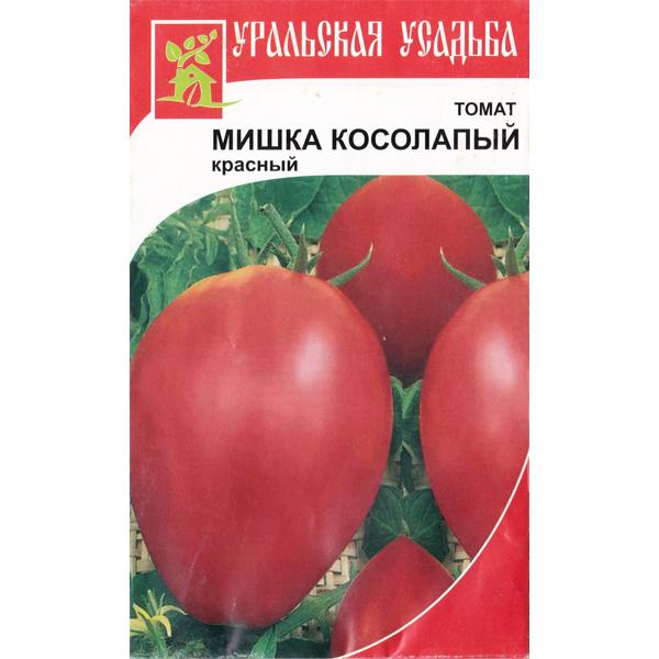 """Томат """"Мишка Косолапый красный"""""""