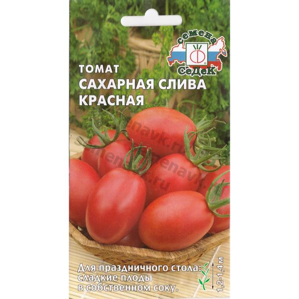 томат сахарная слива красная