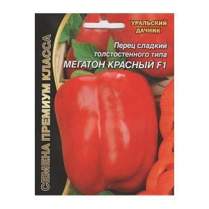 перец сладкий толстостенного типа мегатон красный F1