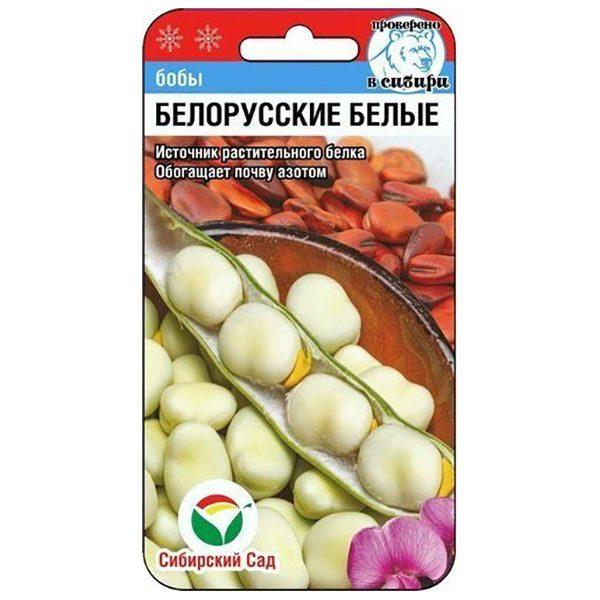 бобы белорусские белые