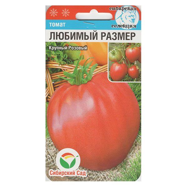 томат любимый размер